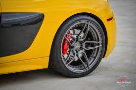 Audi R8 Yellow - audi r8 v10 b forged performance forged custom wheels