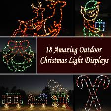 Animated Outdoor Christmas Decorations by Outdoor Christmas Light Displays Remesla Info