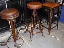 Vintage Industrial Bar Stool with Vintage Retro Industrial Steel Bar Stools Kitchen Dining Counter