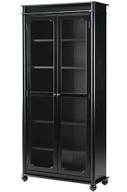 Glass Bookcases With Doors Glass Enclosed Bookcase Medium Size Of Glass Bookcases For Sale