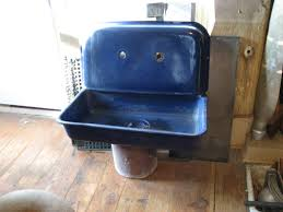 Blue Kitchen Sink Cobalt Blue Kitchen Sink Found Objects Of Industry