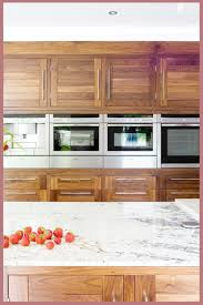 kitchen ideas with oak cabinets and stainless steel appliances horizon walnut by the design yard homelegant co