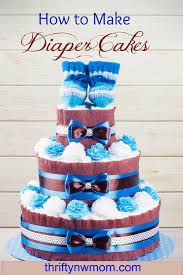 frugal baby shower gift how to make a diaper cake for cheap