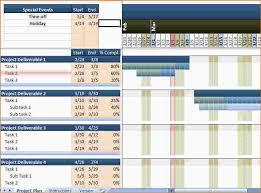 Project Gantt Chart Excel Template 7 Gantt Chart Excel Template Free Ganttchart Template