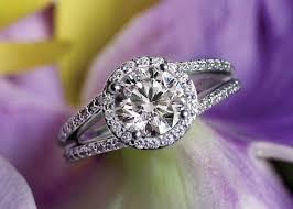 Circle Diamond Wedding Ring by 62 Diamond Engagement Rings Under 5 000 Glamour