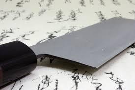 Japanese Damascus Kitchen Knives Kanetsune Japanese Sushi Chef Kitchen Knife Damascus Usuba Nakiri