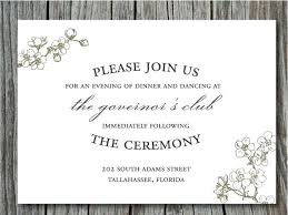 casual wedding invitations idea casual wedding invitation wording hosting and and
