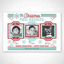personalized christmas poll holiday photo card einvite com
