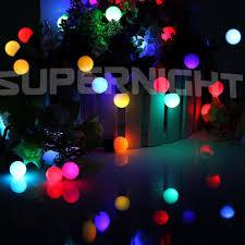 excellent inspiration ideas ball christmas lights modest