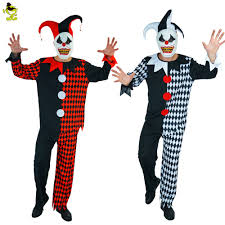 Killer Clown Costume Aliexpress Com Buy Deluxe Plus Mask Killer Clown Adults Costumes