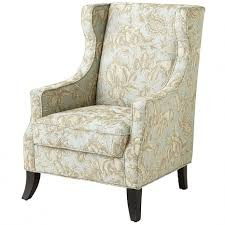 Armchair Ottoman Design Ideas Armchair Chair Wonderful Floral Wingback Chair Last Year My