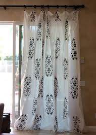 Curtains Printed Designs Plain Curtains Screen Printing Kit U003d Lovely Window Dressings For