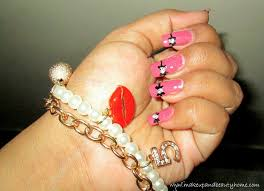cute bow nail art tutorial do it yourself blog beauty care