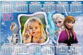 fotomontaje de calendario 2015 minions con foto hacer fotomontaje de calendario frozen 2015 hacer fotomontajes gratis