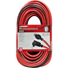 husky extension cords extension cords u0026 surge protectors the