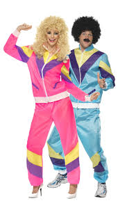 couples 1980s shell suits fancy dress costumes fancy me limited