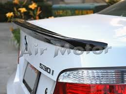 combo bmw e60 a roof trunk spoiler wing 520i 535i 545i 528 550 m5