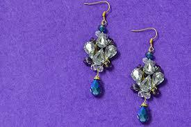 diy drop earrings beader garden diy stunning glass bead drop earrings with