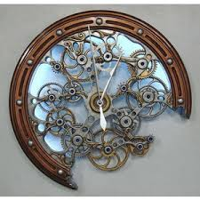 Best Wall Clock What Time Is It Get The Gears Turning Polyvore