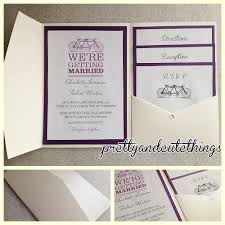 pocket wedding invitations stirring diy pocket wedding invitations theruntime