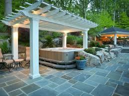 tub patio ideas back yard tub landscaping tub back