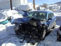 car accident in colorado united states north america youtube