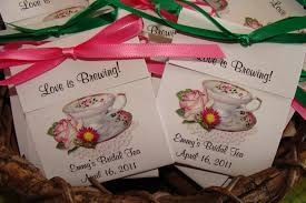 bridal tea party favors tea party favors fiona tea cup tea party favor made 140 tea bag