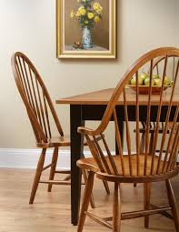 Dining Room High Back Chairs by Maple Windsor High Back Dining Room Chair From Dutchcrafters Amish