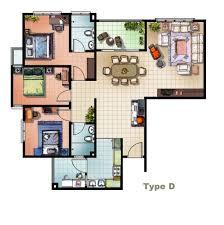 flooring plan floor 2bhk mesmerizing makerlayuna easy home decor