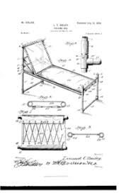 Folding C Bed Folding Bed Patented American Registry