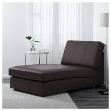 kivik chaise longue grann bomstad dark brown ikea