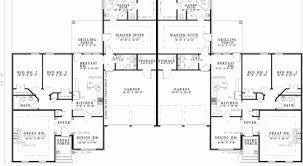 9 multi family floor plans multi family plan 97394 at