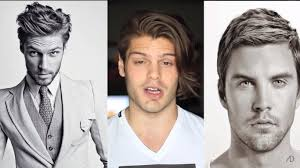 and short hairstyles for men according to face shape