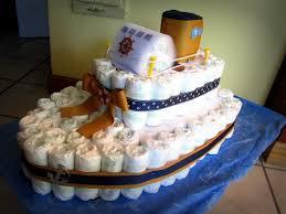 interstate navigation ferry boat diaper cake baby shower ideas