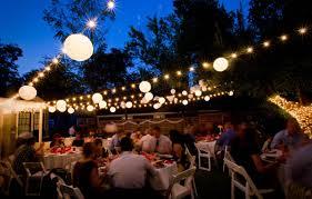 impressive decorative outdoor string lights for concept