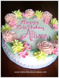 birthday cakes images captivating flower cakes for birthday cheap