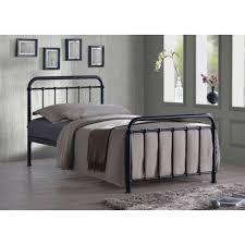 Black Single Bed Frame Henley Hospital Metal Bed Black Single