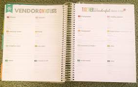 wedding planner notebook ideas creative erin condren wedding planner review for best