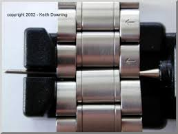 omega link bracelet images Resizing an omega watch bracelet the easy way jpg