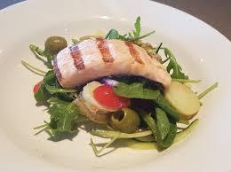 restaurant cuisine nicoise salmon nicoise salad only 26 50 available on our lunchtime