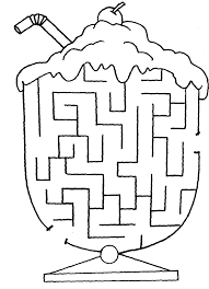printable kids maze coloring pages