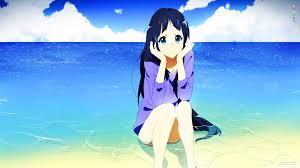 black hair for the beach tom skender original characters blue eyes long hair