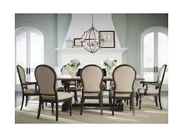 standard furniture dining room sets standard furniture cambria trestle table and upholstered chair
