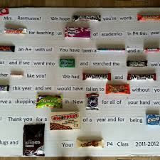 end of year gift bar sayings appreciation