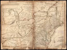 Map New York Connecticut by Bowles U0027s New One Sheet Map Of The Independent States Of Virginia