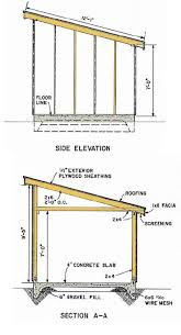 Plans To Build A Wooden Storage Shed by Best 25 Lean To Shed Plans Ideas On Pinterest Lean To Shed To