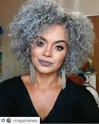 9 naturals with dope gray natural hair on instagram natural hair