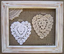 heart shaped doilies heart shaped lace edge doilies 11cm lace and trimming co
