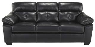 Benchcraft Leather Sofa by Benchcraft Bastrop Durablend Midnight Contemporary Bonded