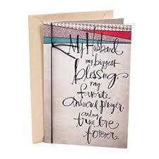card for husband hallmark mahogany religious birthday greeting card